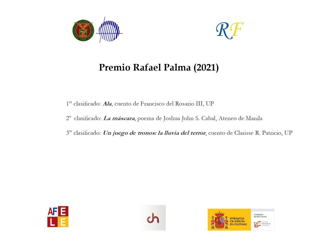 Ganadores del Premio Rafael Palma 2021